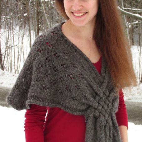 Braided Glory Shawl