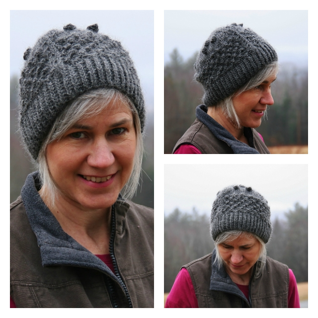 Chore Time Bobble Hat Knitting Pattern Digital Download Vermont