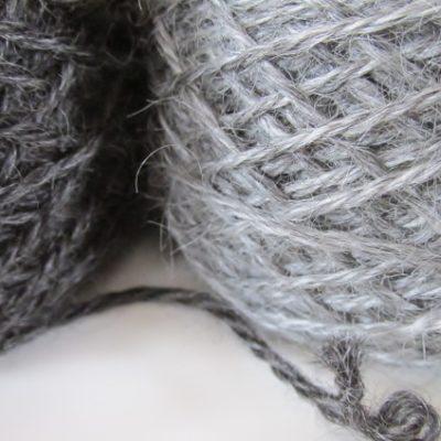 mist pale gray gotland yarn