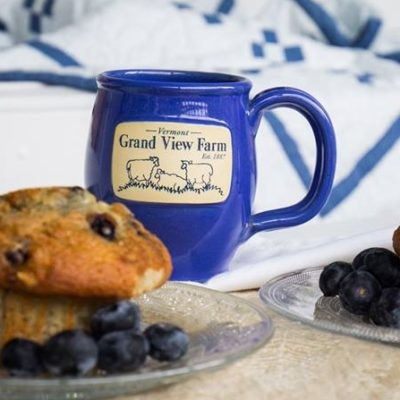 Vermont Grand View Farm Sheep Mug