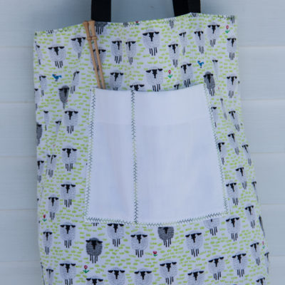 Large Knitting Tote