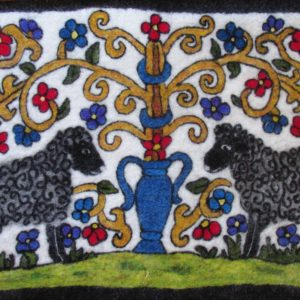 The Sheep Guardians Tapestry