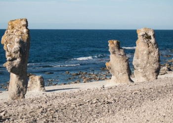 Sea Stacks along the Baltic Sea