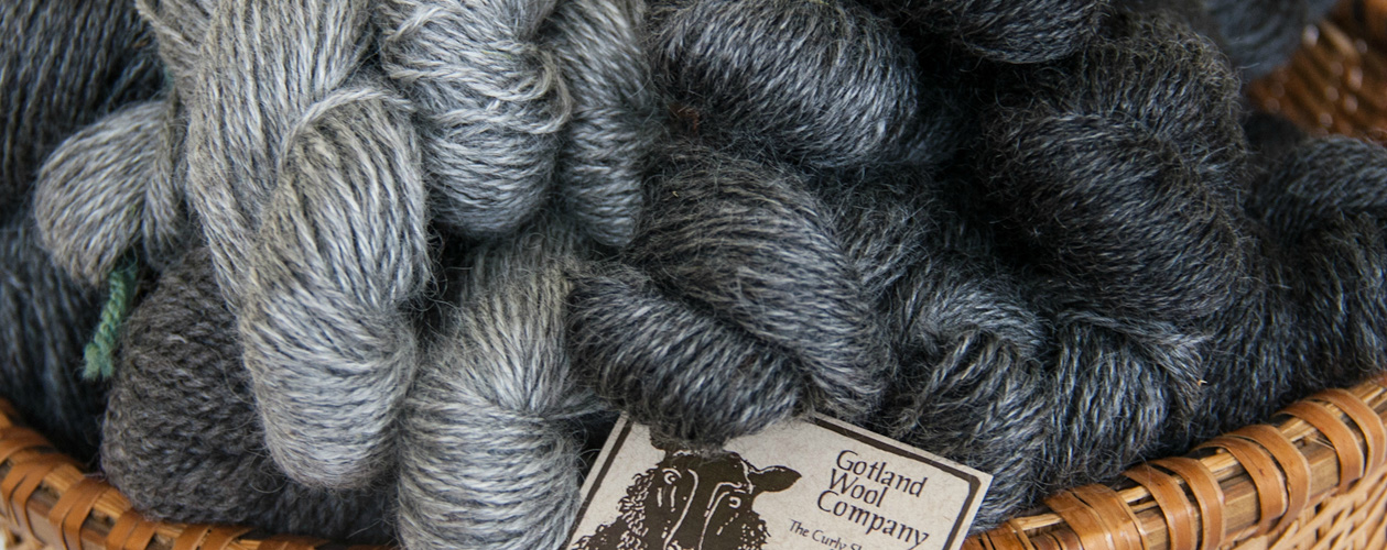 Gotland Yarn from VT Grand View Farm
