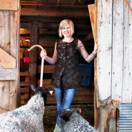 Gotland Felted Shepherd's Vest